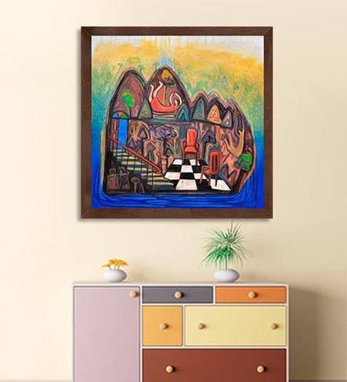 Limited Edition Wall Art For Popular Buy Canvas 27 X 27 Inch Composition – 3 Framed Limited Edition (View 9 of 15)