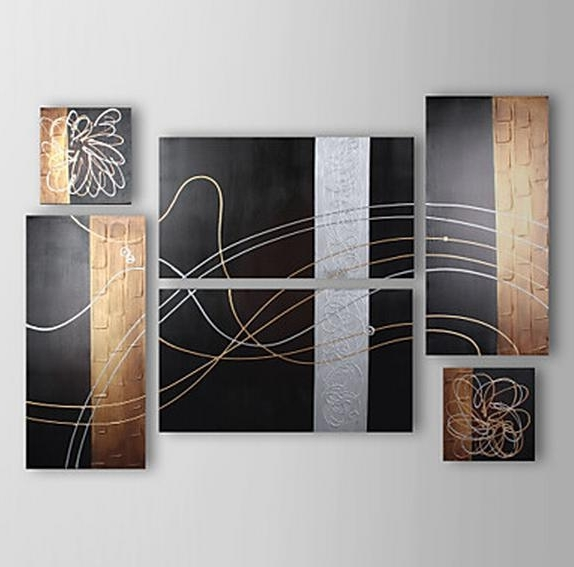 [%Listed In Stock] 6Pcs/lot Hand Made Silver Line Black & Brown For Best And Newest Brown Abstract Wall Art|Brown Abstract Wall Art With Favorite Listed In Stock] 6Pcs/lot Hand Made Silver Line Black & Brown|Fashionable Brown Abstract Wall Art Within Listed In Stock] 6Pcs/lot Hand Made Silver Line Black & Brown|Most Recently Released Listed In Stock] 6Pcs/lot Hand Made Silver Line Black & Brown Throughout Brown Abstract Wall Art%] (View 6 of 15)