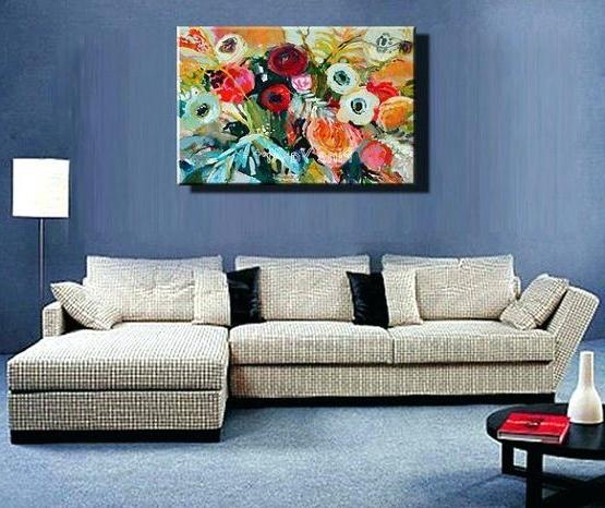 Livingroom Wall Art Creative Wall Art Ideas For Living Room Regarding Current Abstract Living Room Wall Art (View 4 of 15)