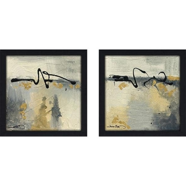 "Lyrical Ii"" Wall Art Set Of 2, Matching Set – Free Shipping Today Pertaining To 2018 Matching Wall Art Set (View 5 of 15)"