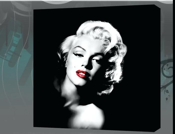 Featured Photo of Marilyn Monroe Black And White Wall Art
