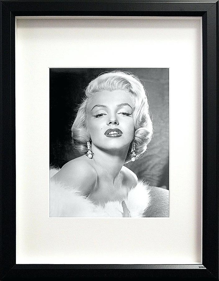 Marilyn Monroe Framed Wall Art Pertaining To Best And Newest Marilyn Monroe Framed Wall Art Framed Wall Art Elegant Picture In (View 6 of 15)
