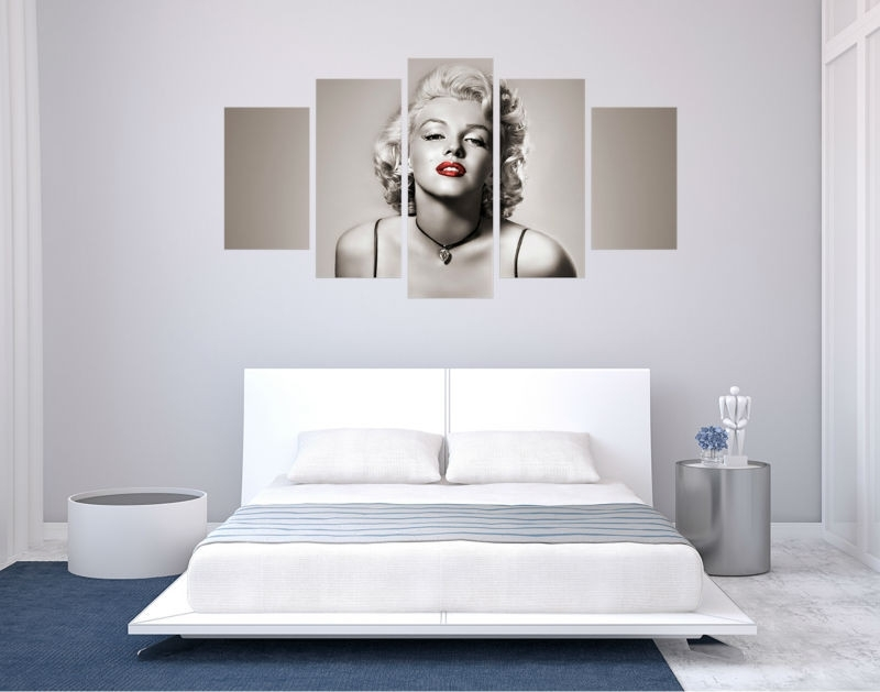 Marilyn Monroe Wall Art Pertaining To Widely Used Marilyn Monroe Wall Art (View 11 of 15)