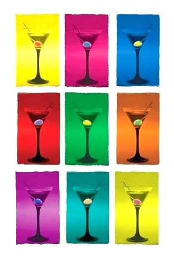 Martini Glass Wall Art Martini Glass Wall Art Medium Size Of Martini With Recent Martini Glass Wall Art (View 9 of 15)
