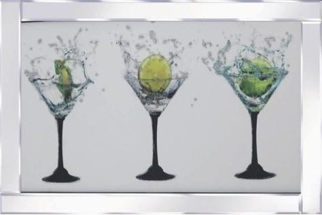 Martini Glass Wall Art (View 3 of 15)