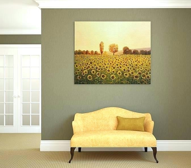 Matching Canvas Wall Art With Regard To Well Known Matching Wall Art Matching Canvas Wall Art Colour Contrast Moss (View 6 of 15)