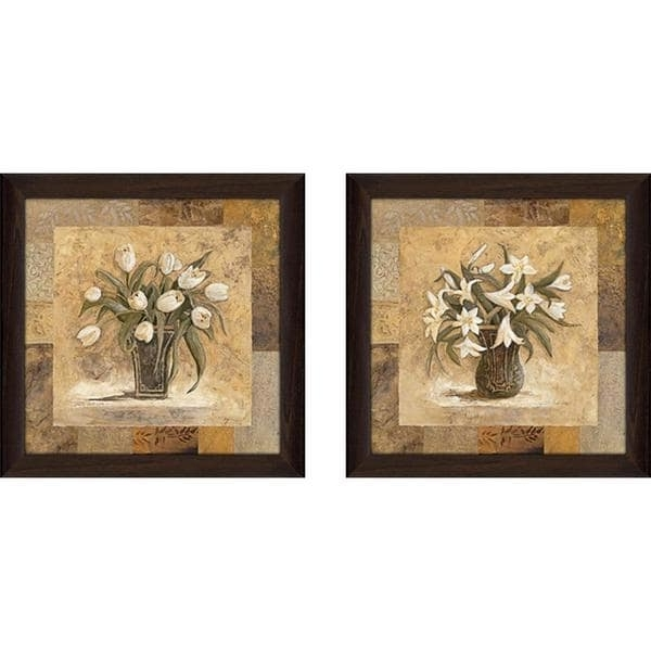 "Matching Wall Art Regarding Famous Gold Mine"" Wall Art Set Of 2, Matching Set – Free Shipping Today (View 5 of 15)"