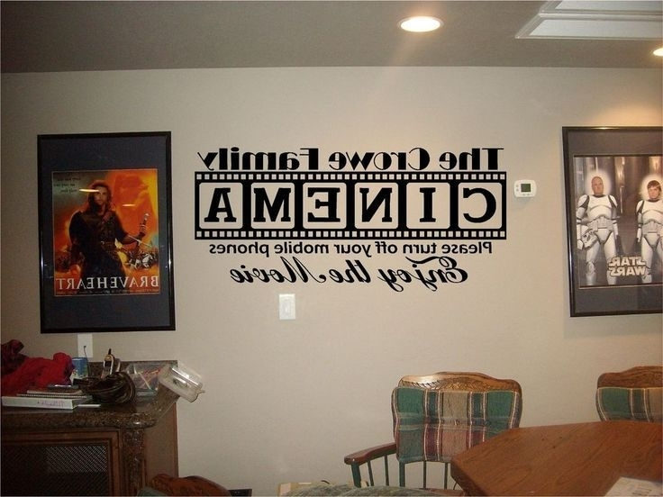 Media Room Wall Art Within Current 13 Best Home Theater Idesa Images On Pinterest (View 9 of 15)