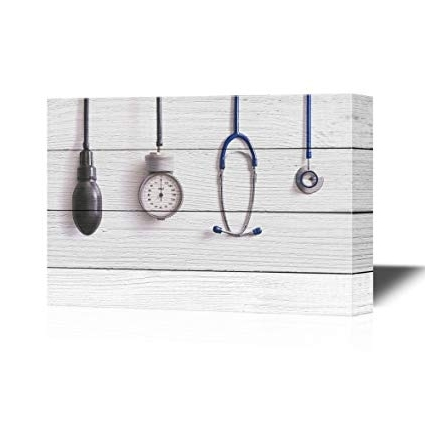Medical Wall Art With Well Known Amazon: Wall26 Clinic Canvas Wall Art – Medical Apparatus And (View 9 of 15)