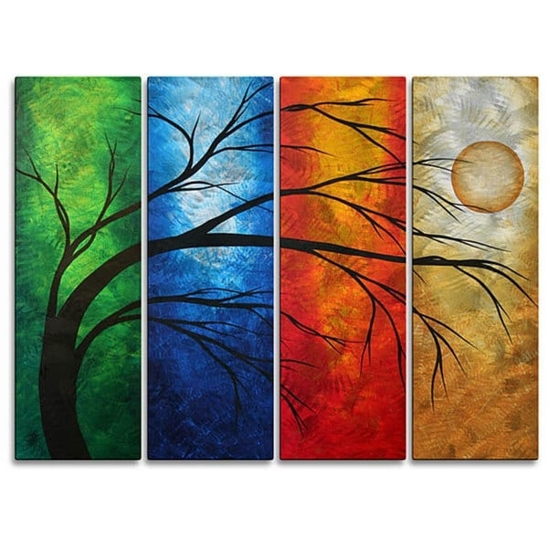 Megan Duncanson Metal Wall Art For Most Recently Released Shop Megan Duncanson 'in Living Color' Metal Wall Art – On Sale (View 7 of 15)