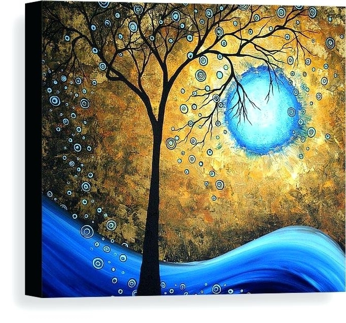 Megan Duncanson Metal Wall Art In Well Known Megan Duncanson Metal Wall Art Abstract Canvas Print Featuring The (View 8 of 15)