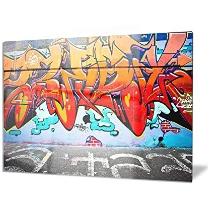 Melbourne Abstract Wall Art For 2017 Melbourne Street Art – Abstract Graffiti Metal Wall Art – Mt (View 14 of 15)