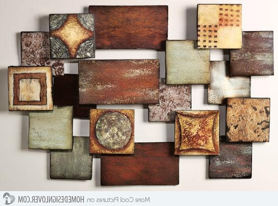 Metal Abstract Wall Art In Widely Used Modern And Contemporary Abstract Metal Wall Art Sculptures With (View 8 of 15)