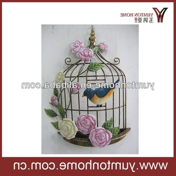 Metal Birdcage Wall Art – Buy Metal Wire Wall Art,metal Flower Wall In Well Liked Metal Birdcage Wall Art (View 13 of 15)