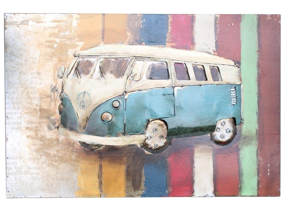 Metal Campervan Wall Hanging Within Campervan Metal Wall Art (View 7 of 15)