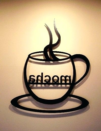Metal Coffee Cup Wall Art Intended For Well Liked Coffee Cup Metal Wall Art – Chastaintavern (View 9 of 15)