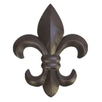 "Metal Fleur De Lis Wall Art With Well Known Amazon: 10"" Metal Fleur De Lis Wall Plaque / Art With Hanger (View 2 of 15)"