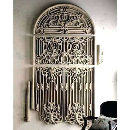 Metal Gate Wall Art Fancy Iron Gate Wall Art Frieze Art Wall Decor Regarding 2017 Iron Gate Wall Art (View 4 of 15)