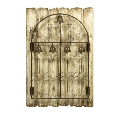 [%Metal Gate Wall Art | Gate Wall Art Material: 60% Fir, 40% Iron With Regard To Newest Iron Gate Wall Art|Iron Gate Wall Art In Most Current Metal Gate Wall Art | Gate Wall Art Material: 60% Fir, 40% Iron|Trendy Iron Gate Wall Art With Regard To Metal Gate Wall Art | Gate Wall Art Material: 60% Fir, 40% Iron|Popular Metal Gate Wall Art | Gate Wall Art Material: 60% Fir, 40% Iron Within Iron Gate Wall Art%] (View 13 of 15)