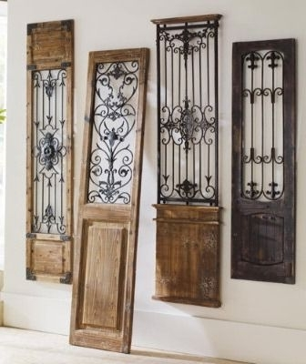 Metal Gate Wall Art Pertaining To Most Current Sofa Ideas (View 8 of 15)