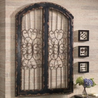Featured Photo of Metal Gate Wall Art