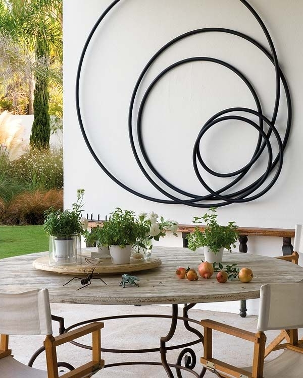 Metal Large Outdoor Wall Art Within Current Extra Large Outdoor Metal Wall Art (View 9 of 15)
