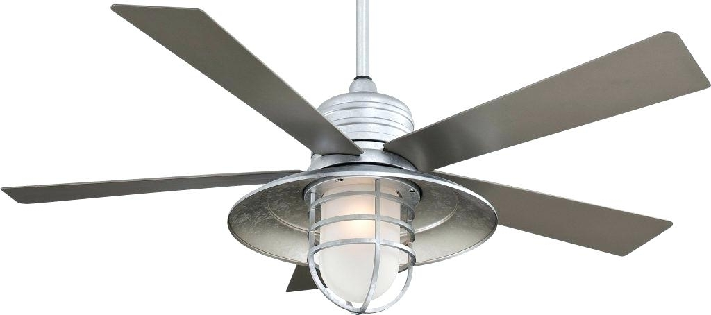 Metal Outdoor Ceiling Fans With Light With Most Popular Metal Ceiling Fan With Light Nautical Ceiling Fan Light Kit Luxury (View 6 of 15)