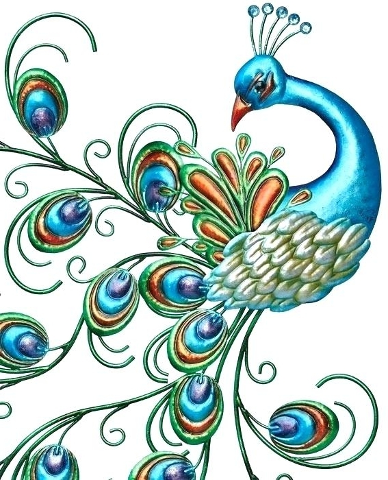 Metal Peacock Wall Art Peacock Wall Art Metal Full Size Of Wall Art In 2018 Peacock Metal Wall Art (View 14 of 15)
