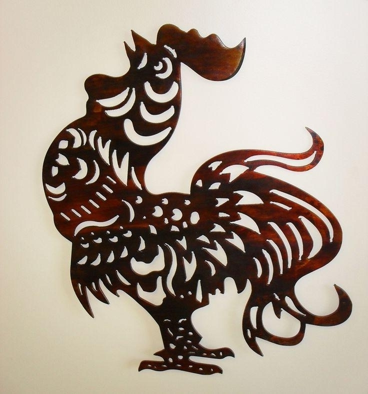 Metal Rooster Wall Decor Within Most Recently Released Rooster Wall Decor 20 Photos Metal Rooster Wall Decor Wall Art Ideas (View 7 of 15)