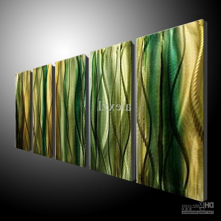Metal Wall Art Abstract Contemporary Sculpture Home Decor Modern With Famous Inexpensive Abstract Metal Wall Art (View 9 of 15)