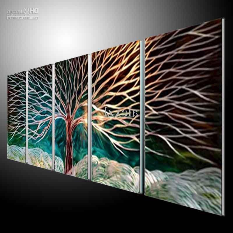 Metal Wall Art Abstract Modern Sculpture Best Metal Wall Art Panels For 2017 Abstract Metal Wall Art Panels (View 10 of 15)