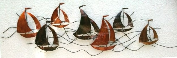 Metal Wall Art – Sailing Boats: 4 Steps (With Pictures) With Famous Sailboat Metal Wall Art (View 5 of 15)