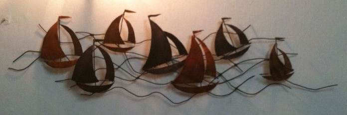 Metal Wall Art – Sailing Boats: 4 Steps (With Pictures) With Regard To Recent Metal Sailboat Wall Art (View 9 of 15)