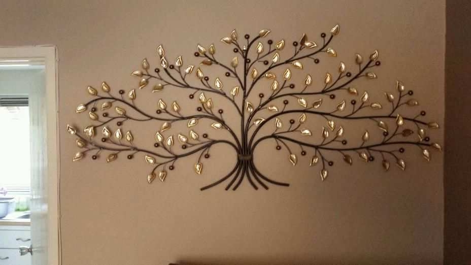 Metal Wall Art Trees And Branches With Regard To Trendy Metal Tree Wall Art Best Of Leaf Metal Wall Art Modern Europen Metal (View 6 of 15)