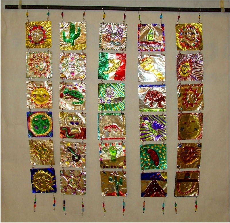 Mexican Metal Art Within Best And Newest Mexican Metal Tooling Lesson Plan: Multicultural Art And Craft (View 10 of 15)