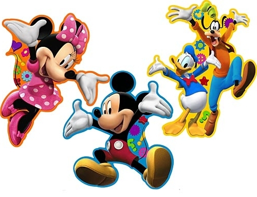Mickey Mouse Clubhouse Room Decor (View 9 of 15)