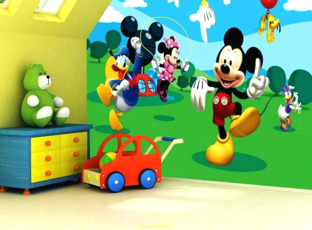 Mickey Mouse Clubhouse Wall Art Inside Trendy Mickey Mouse Clubhouse Room Decor – Riselikelions (View 5 of 15)