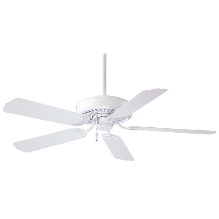 """Minka Aire 52"""" Sundance 5 Blade Indoor / Outdoor Ceiling Fan Intended For Trendy Wayfair Outdoor Ceiling Fans (View 3 of 15)"""