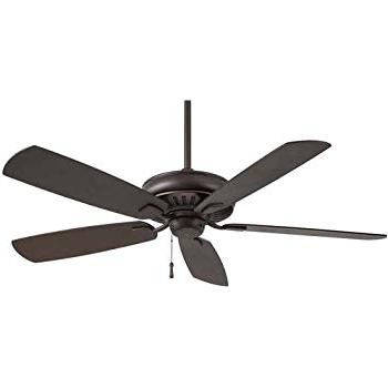 "Minka Aire F532 Orb Sunseeker 60"" Outdoor Ceiling Fan, Oil Rubbed Intended For Current Oil Rubbed Bronze Outdoor Ceiling Fans (View 4 of 15)"