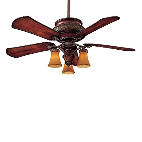 """Minka Aire F840 Cf Craftsman – 52"""" Outdoor Ceiling Fan With Light With Regard To Well Known Craftsman Outdoor Ceiling Fans (View 14 of 15)"""