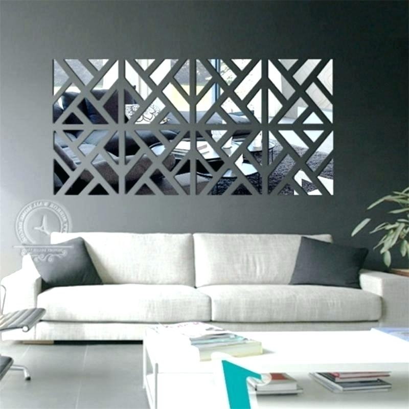 Mirrors Modern Wall Art Pertaining To Popular Small Decorative Mirrors – Psycc (View 8 of 15)