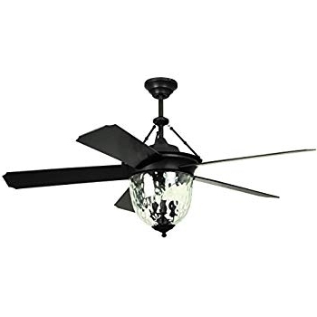 """Miseno Mfan 600 Traditional 56"""" Indoor / Outdoor Ceiling Fan With Intended For Fashionable Outdoor Ceiling Fans With Remote And Light (View 7 of 15)"""