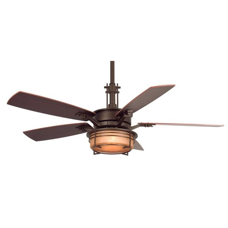 Mission Style Outdoor Ceiling Fans With Lights Throughout Preferred Corner Wall Mount Fan : Amazing Corner Ceiling Fans (View 9 of 15)