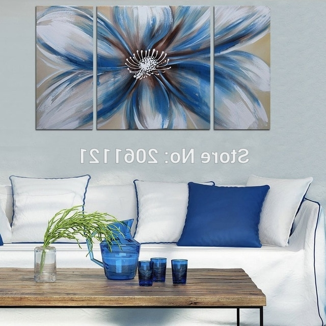 [%Modern 100% Hand Painted Artwork Abstract Floral Oil Paintings White Throughout Well Known Abstract Floral Canvas Wall Art|Abstract Floral Canvas Wall Art For Most Current Modern 100% Hand Painted Artwork Abstract Floral Oil Paintings White|Fashionable Abstract Floral Canvas Wall Art Inside Modern 100% Hand Painted Artwork Abstract Floral Oil Paintings White|Most Popular Modern 100% Hand Painted Artwork Abstract Floral Oil Paintings White Regarding Abstract Floral Canvas Wall Art%] (View 2 of 15)