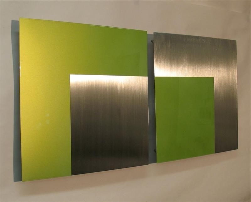 Modern Metal Wall Art (View 2 of 15)