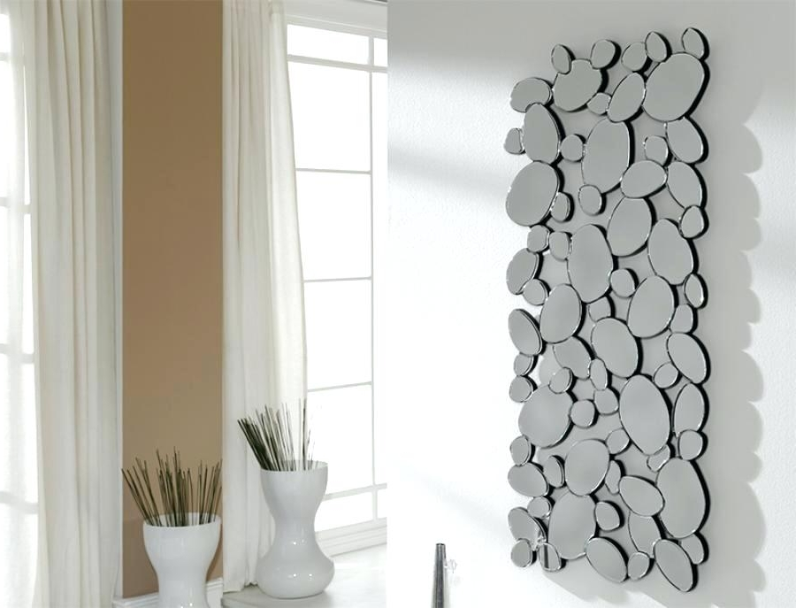 Modern Mirrored Wall Art Hexagon Mirror Tiles Wall Mirrors Hexagon Throughout Most Recently Released Contemporary Mirror Wall Art (View 11 of 15)