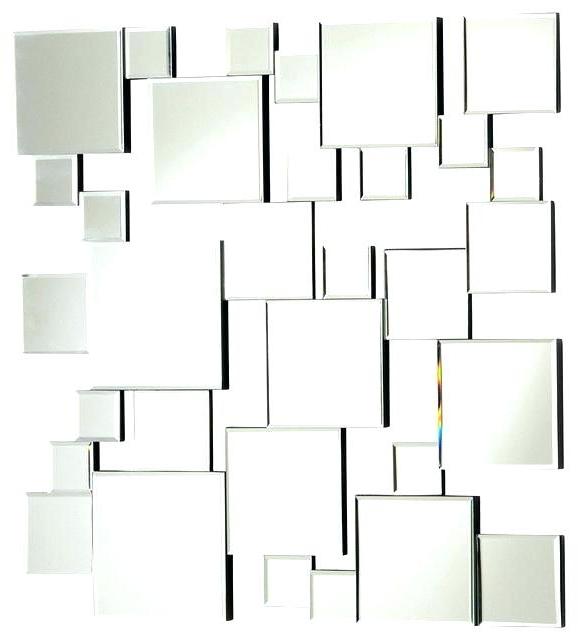 Modern Mirrored Wall Art Image Of Modern Mirror Sets Wall Decor Regarding Popular Wall Art Mirrors Contemporary (View 3 of 15)