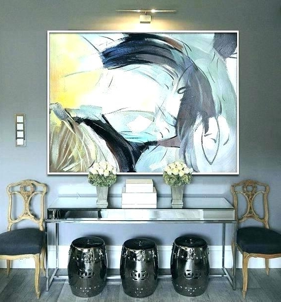 Modern Oversized Wall Art With Regard To Favorite Oversized Wall Art Contemporary Giant Wall Art Oversized Wall Art (View 7 of 15)