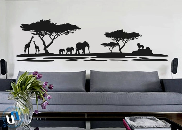 Modern Vinyl Wall Art Decals (View 4 of 15)