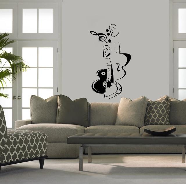 Modern Vinyl Wall Art Throughout Popular Modern Vinyl Wall Art – Elitflat (View 8 of 15)